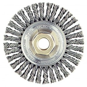"Weiler Roughneck Max 4"" Stringer Bead Wheel"