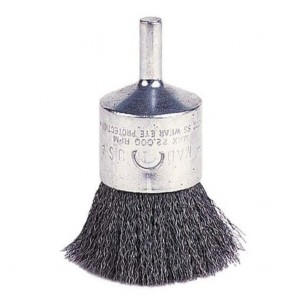 """Weiler 1"""" Crimped Wire End Brush"""