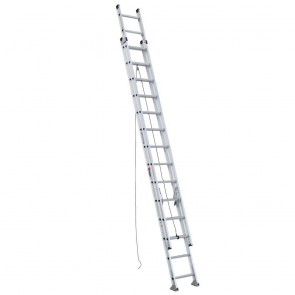 Werner 28ft Type IA Aluminum D-Rung Extension Ladder