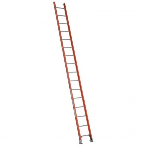 Werner 16ft Type IA Fiberglass D-Rung Straight Ladder