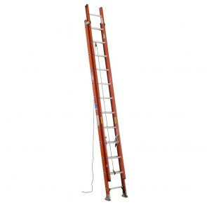 Werner 24ft Type IA Fiberglass D-Rung Extension Ladder