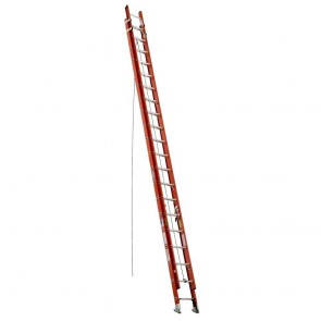 Werner 40ft Type IA Fiberglass D-Rung Extension Ladder
