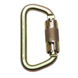 Werner 1/2in Carabiner, 3600lb Gate