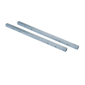 Werner 1-1/2 in. x 108 in. Square Guard Rail Cut