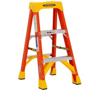 Werner 3ft Type IA Fiberglass Stepladder