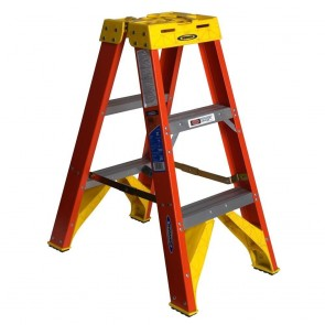 Werner 3ft Type IA Fiberglass Twin Ladder