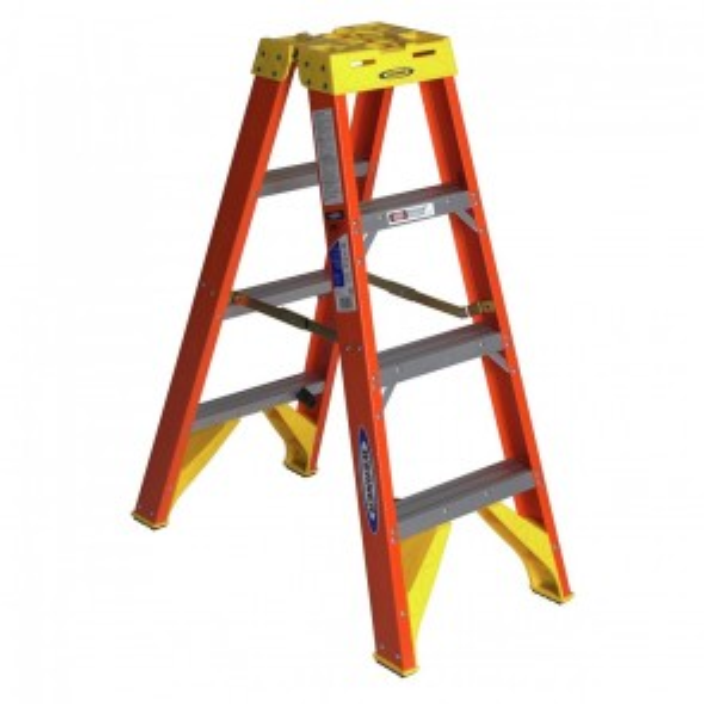 Werner 4ft Type IA Fiberglass Twin Ladder