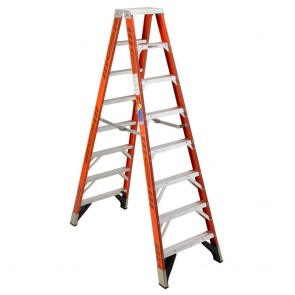 Werner 12ft Type IAA Fiberglass Twin Ladder