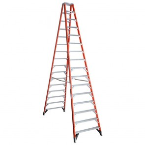 Werner 16ft Type IAA Fiberglass Twin Ladder