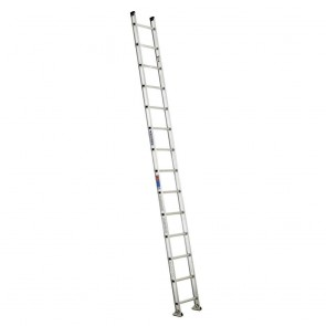 Werner 14ft Type IA Aluminum D-Rung Straight Ladder