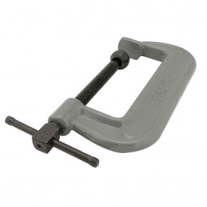 "Wilton 100 Series Forged C-Clamp - Heavy-Duty 2 - 6"" Opening Capacity"