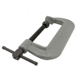 "Wilton 100 Series Forged C-Clamp - Heavy-Duty 6 - 10"" Opening Capacity"