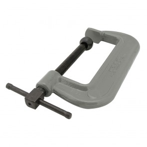 "Wilton 100 Series Forged C-Clamp - Heavy-Duty 8-12"" Opening Capacity"