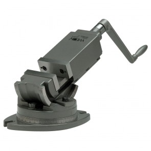 "Wilton 2-Axis Precision Angular Vise 5"" Jaw Width, 1-3/4"" Jaw Depth"