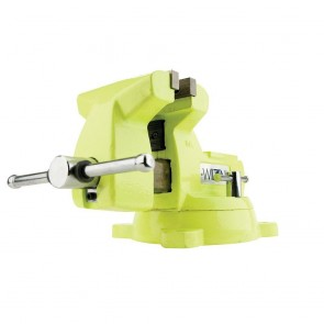 "Wilton High-Visibility Safety 6"" Vise with Swivel Base"