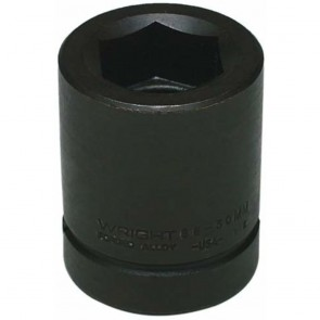 "Wright 1"" Drive 6 Point Standard Metric Impact Socket - 50 MM"