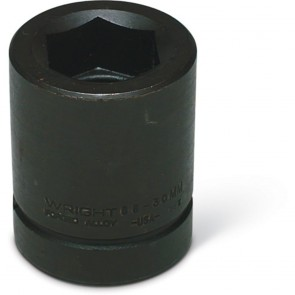 "Wright 1"" Drive 6 Point Standard Metric Impact Socket - 55MM"