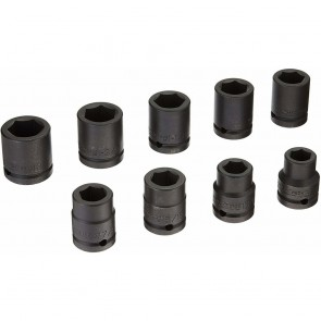 "3/4"" Drive 9 Pc Impact Socket Set"