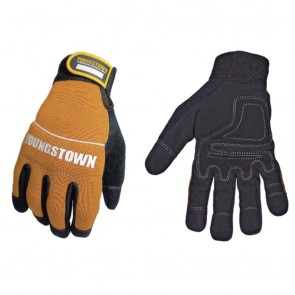 Youngstown Glove Tradesman Plus Brown Glove (Medium)