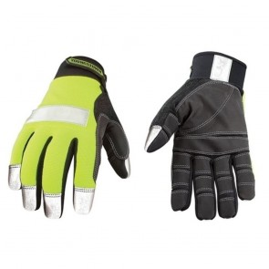 Youngstown Glove Safety Lime Utility Glove (Large)