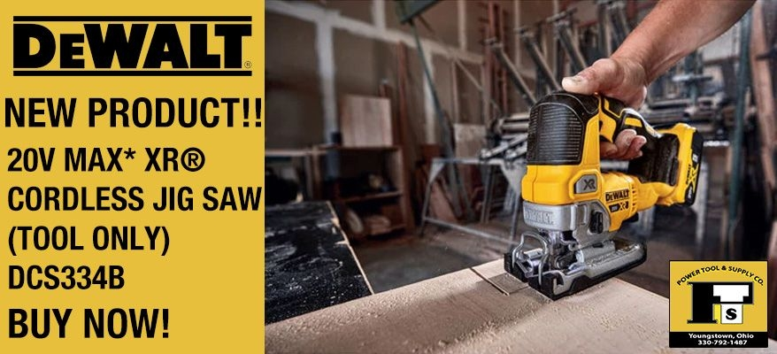 DeWalt 20-Volt MAX Lithium-Ion Brushless Cordless Jigsaw (Tool Only)